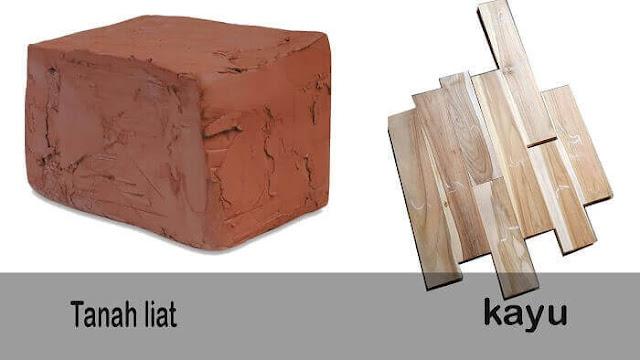 jenis bahan Keramik motif kayu vs lantai parket kayu
