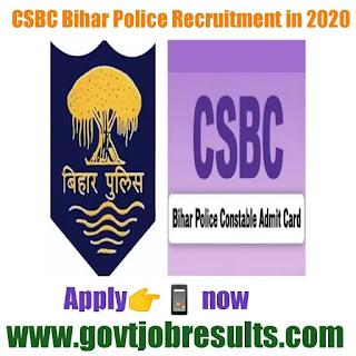 नवीनतम CSBC भर्ती 2020-21 में
