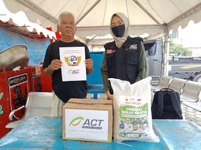 ACT Ajak Masyarakat Lampung Bantu Rombongan Pasar Malam Ariesta Jaya