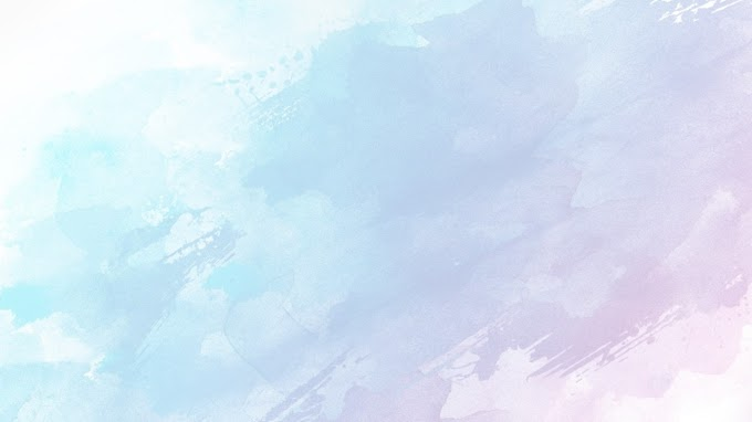 Six blurred watercolor PPT backgrounds