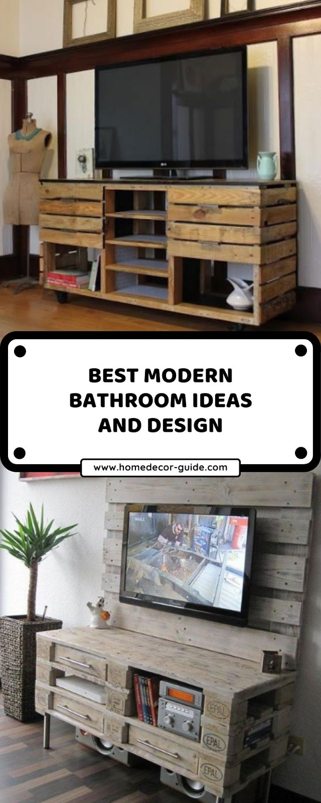 CREATIVE IDEAS WITH PALLET RACK