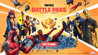 Skin Deadpool is present at Fortnite Chapter 2 Season 2