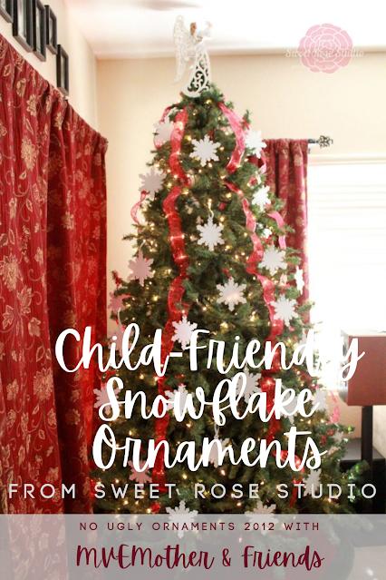 Child Friendly Snowflake Ornaments