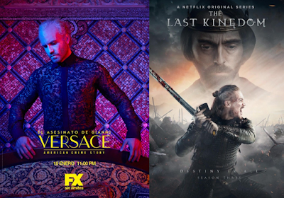 Netflix İçerikleri (The Assassination of Gianni Versace, Elite, Altered Carbon: Resleeved, La casa de papel, Prison Break ve The Last Kingdom)