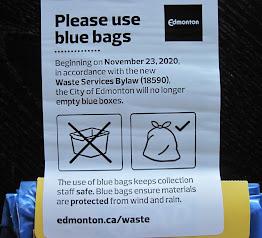 Edmonton recycling