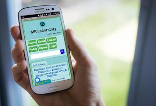 MR Laboratory Blog App - আমাদের এনড্রইড এপ