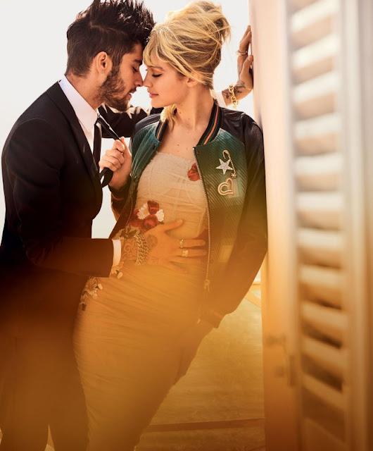 Zayn protagoniza romántica sesión de fotos con su novia, la modelo Gigi Hadid (FOTOS)
