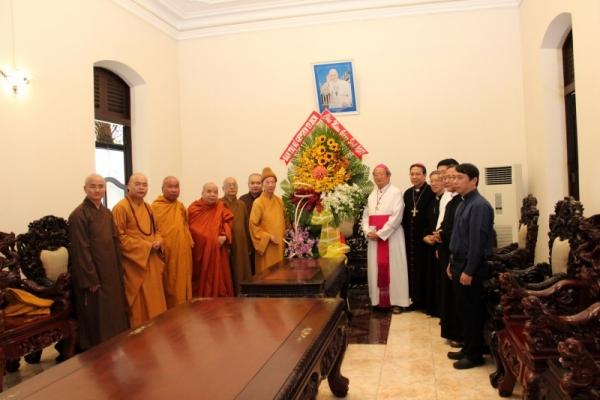 Thành hội Phật giáo chúc mừng Giáng sinh tới tổng giáo phận Sài gòn - Ảnh minh hoạ 8