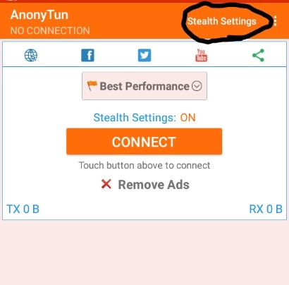 Latest working free browsing cheat with AnonyTun VPN In Ghana