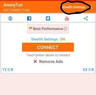 Latest working free browsing cheat with AnonyTun VPN In Ghana 1