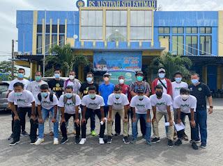 Semua pemain dan ofisial HWFC Jalani Vaksinasi di RS Aisyiyah Siti Fatimah