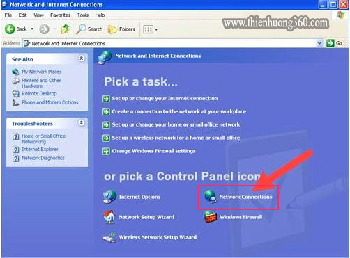 Cách đổi DNS để vào Facebook Windows XP - Bước 3