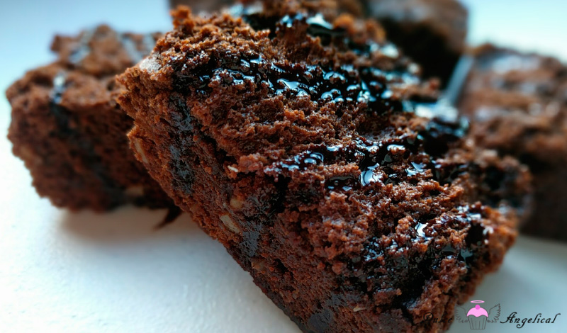 Brownie con nueces delicioso