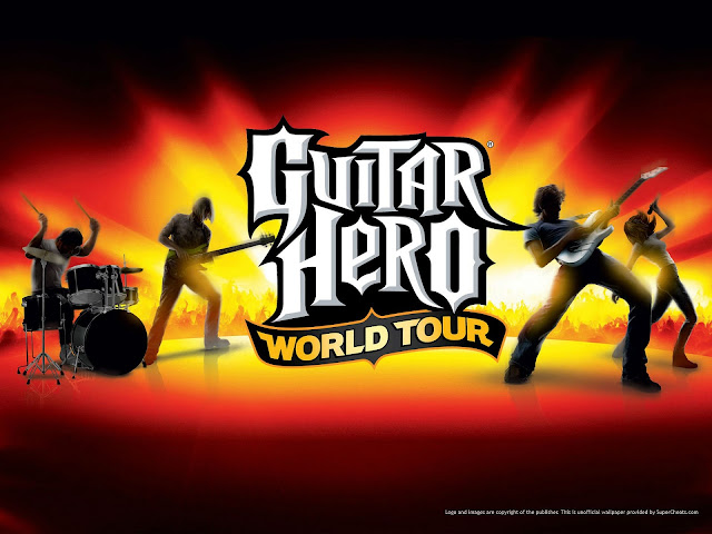 Cara Setting Keyboard Guitar Hero World Tour III PC