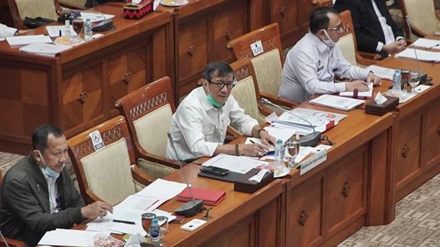 DPR Cecar Yasonna soal Pindahkan Habib Bahar ke Nusakambangan