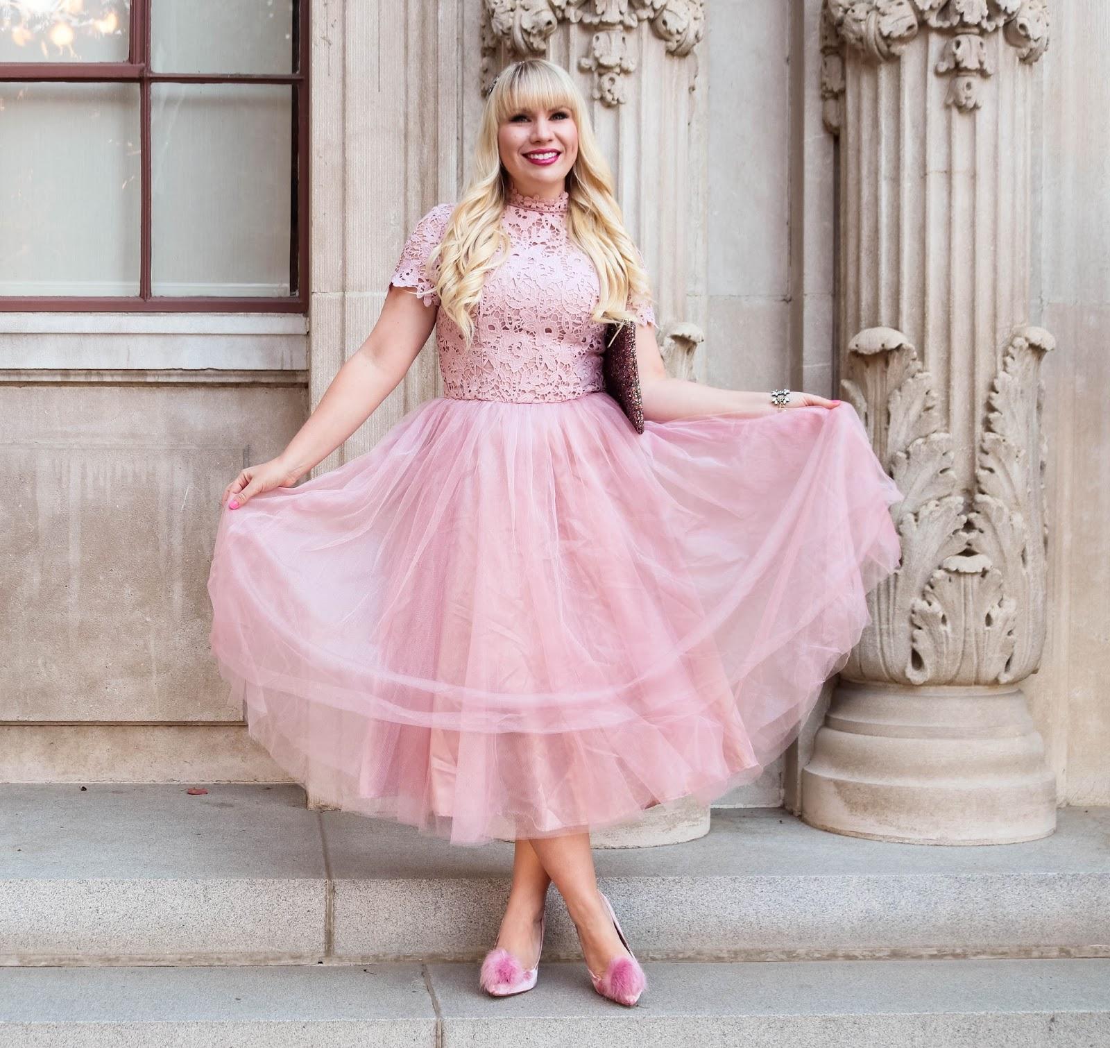 Prettiest Pink Princess Dress