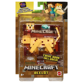 Minecraft Ocelot Survival Mode Figure