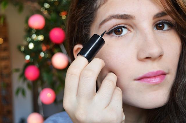 Le fingertip eyeliner de Sephora: pas pour moi!