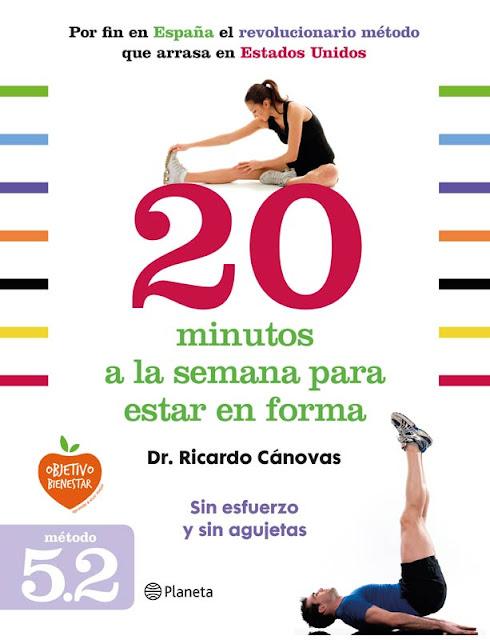 Entrevista al doctor Ricardo Cánovas por su libro '20 minutos para estar en forma'