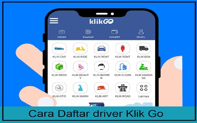 daftar mitra driver klik go
