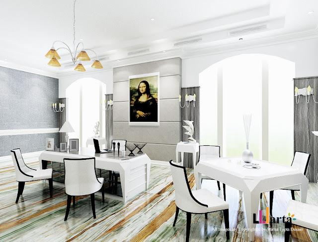 Desain Interior Kantor Klasik