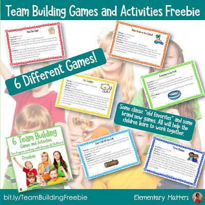 A Few Summer Freebies! This post shares 6 different freebies that can be used at the end of the school year, during summer school, or in the early days of autumn!