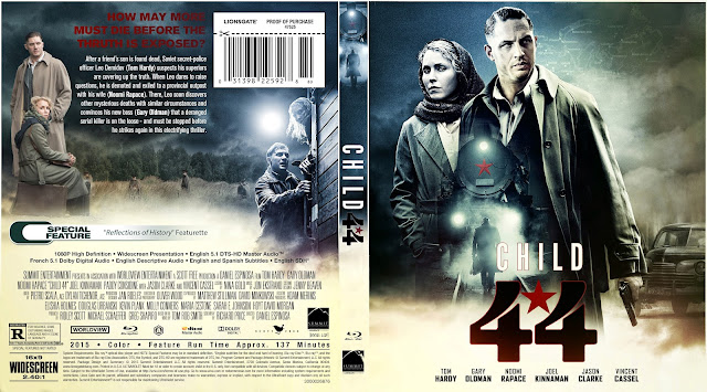 Child 44 Bluray Cover