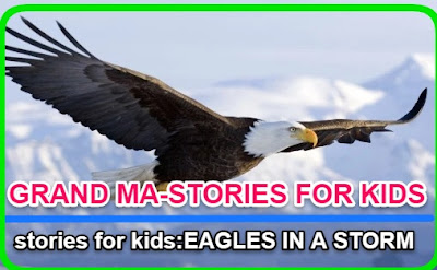 Best Grandma stories for kids:EAGLES IN A STORM