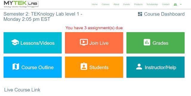 MYTEK LAB online technology classes