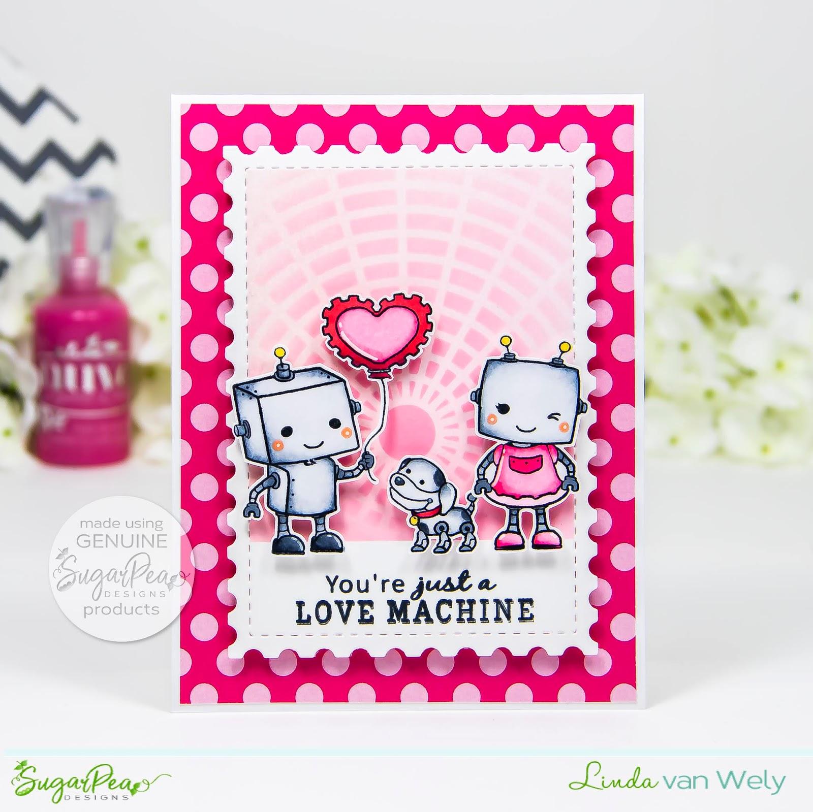 You Re Just A Love Machine Sugarpea Designs Clear Stamps