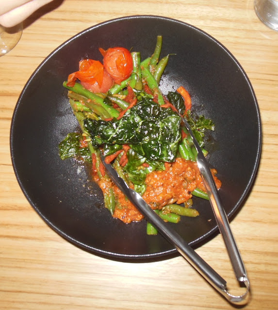 Souk, Melbourne CBD, Turkish green bean salad