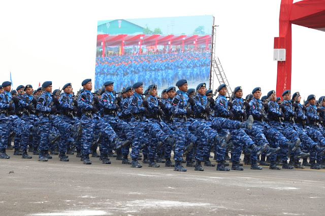 Parade HUT ke-74 TNI Akan Diperkuat 6.806 Personel TNI Di Halim Perdanakusuma