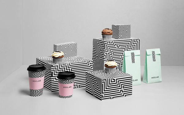 Trend Desain Logo Packaging 2016 - Geometric Patterns