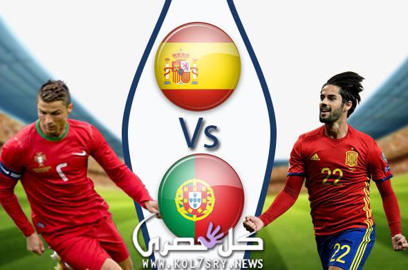 نتيجة مباراة البرتغال واسبانيا