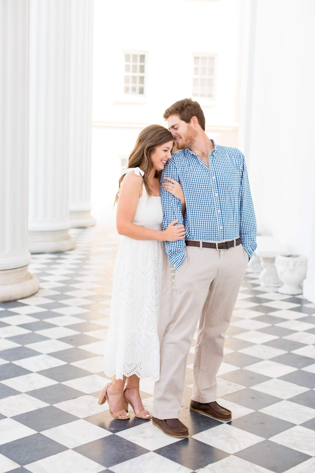 Downtown Charleston Engagement Photoshoot - Chasing Cinderella