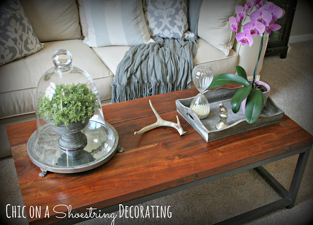Chic on a Shoestring Decorating blog, Holbrook coffee table