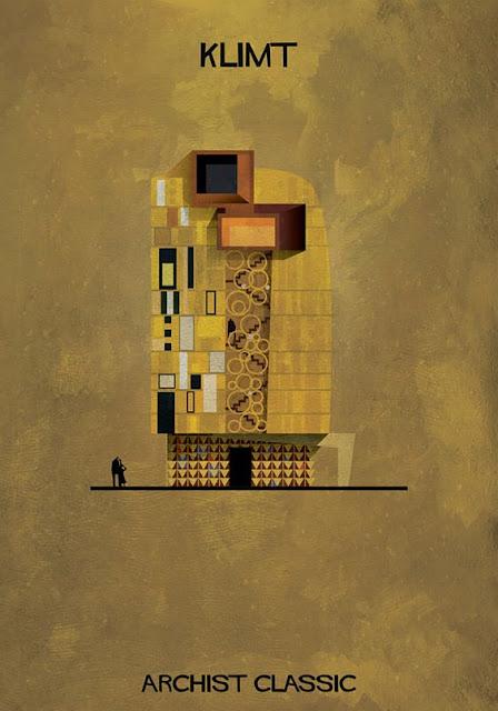 もし有名画家が建築物を作ったら?ゴッホ、ピカソ、ダリの建築? クリムト