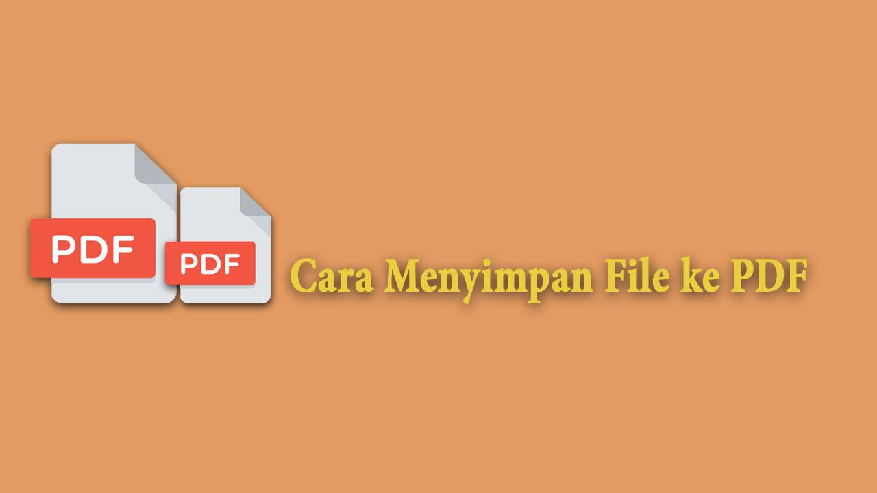 File ke PDF