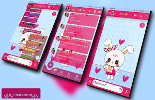 White Teddy Bear Theme For YOWhatsApp & Fouad WhatsApp By Nanda