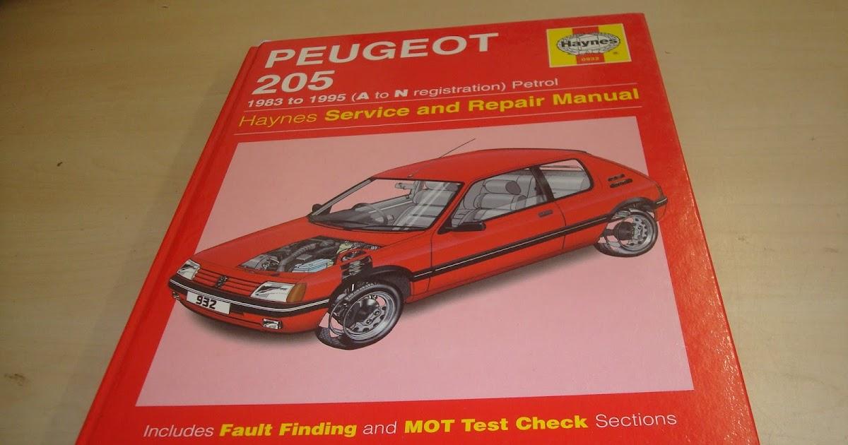 Haynes Peugeot 205 Service And Repair Manual Automotive border=
