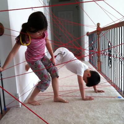 Brincadeiras para as crianças  dentro de casa durante a quarentena
