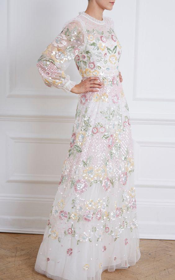 EMBELLISHED DRESSES FASHION