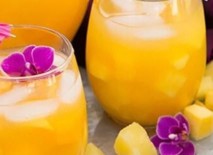 Mango lemonade juice