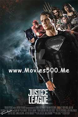 Justice League 2017 English Full Movie 900MB HDRip 720p at movies500.me