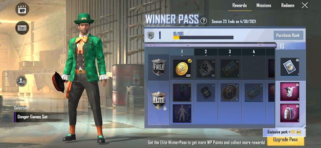 PUBG Lite Season 23 WP released check all rewards