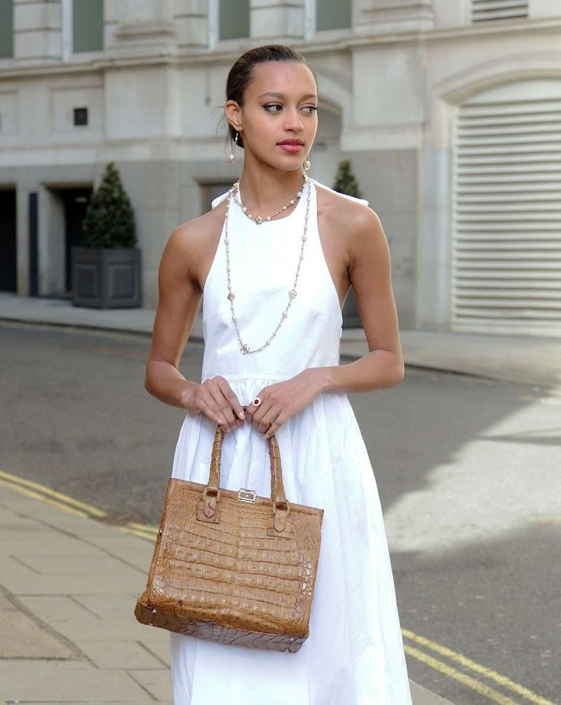 Paris Smith Clicked Outside in London 18 APr-2021