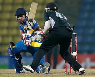 Sri Lanka vs New Zealand 2nd ODI 2012 Highlights