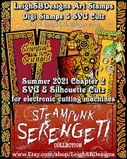 Steampunk Serengeti SVG Cutz Collection