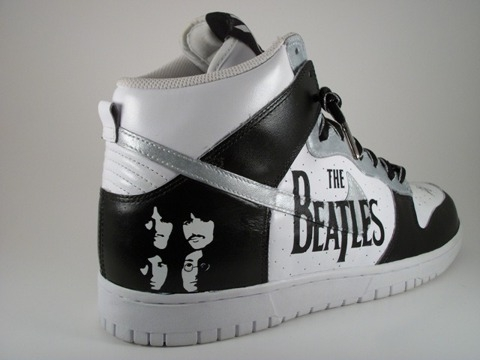 Custom Beatles Nike Shoe. How Nike sparked the sellout revolution. Jingles and other stories of Amerian Dreams. marchmatron.com