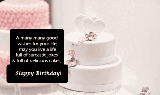 simple birthday wishes for friend female